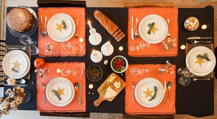 Priprema stola za goste