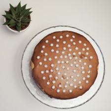 Torta sa puterom od kikirikija i brownie testom