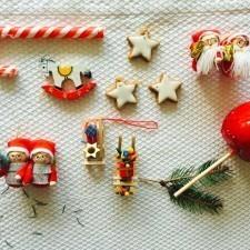 Vintage novogodišnji ukrasi