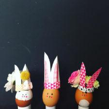Uskršnji zečići – vazice