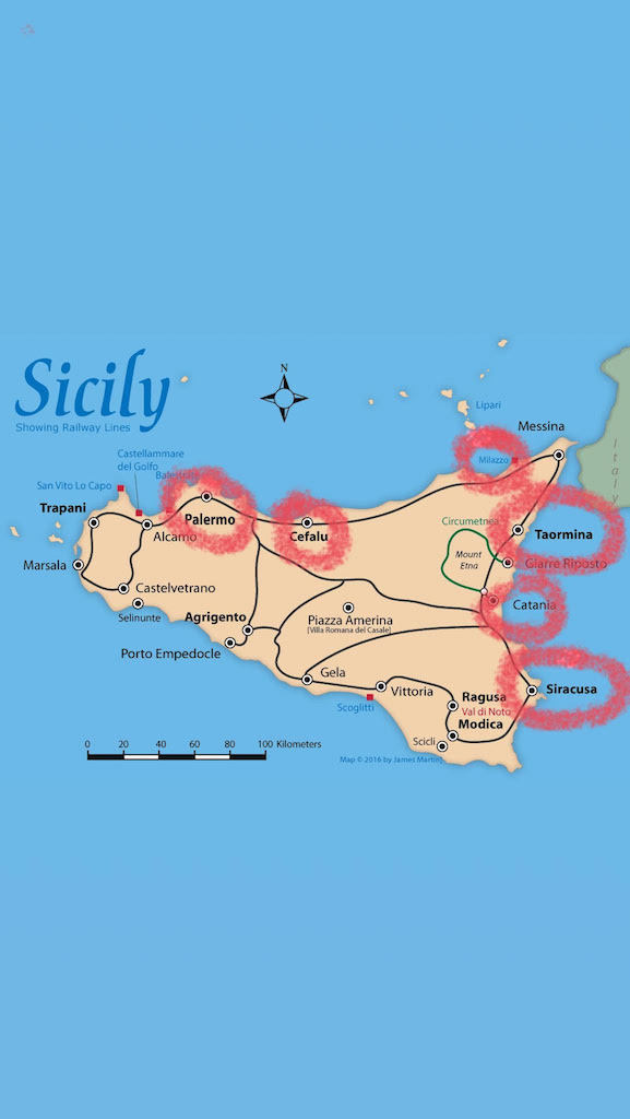 Sicilija Putovanje Sicilija Sta Videti
