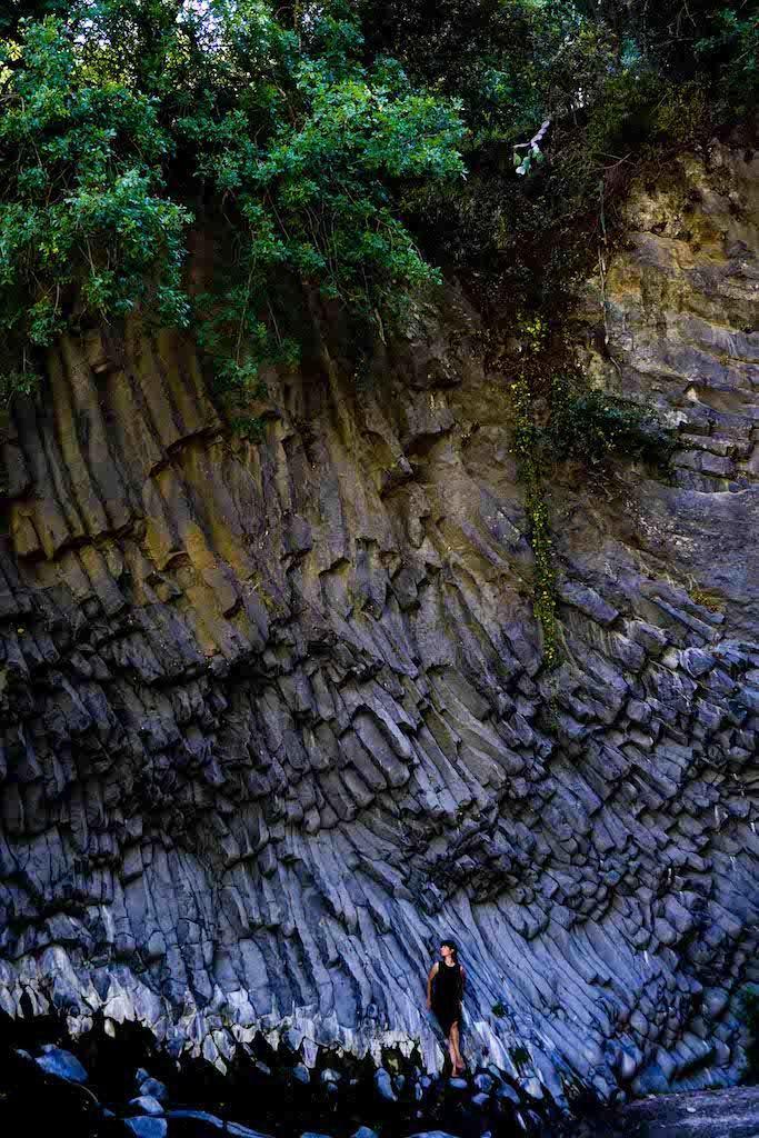 Alcantara klisura Sicilija