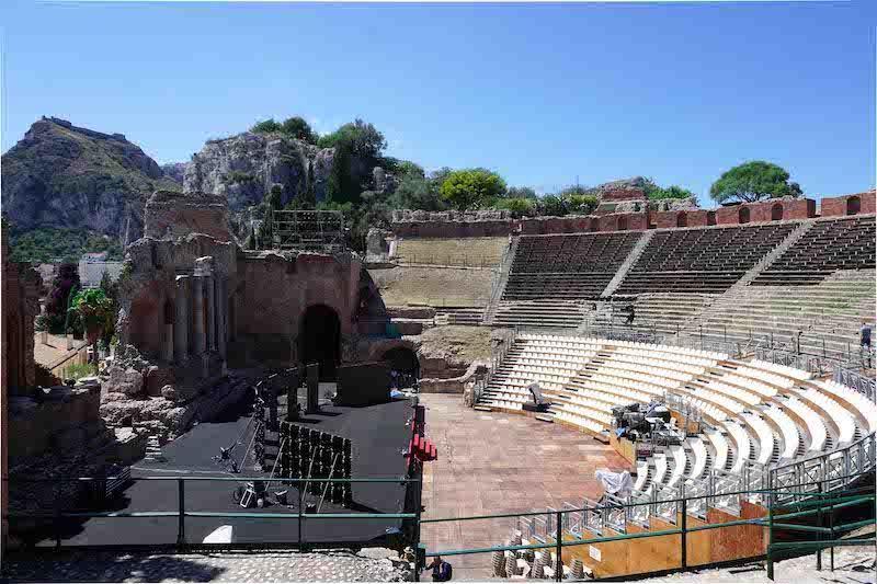 Amfiteatar Taormina Sicilija