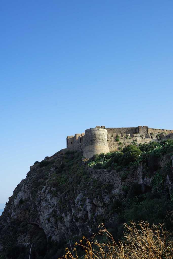Milazzo tvrđava Sicilija