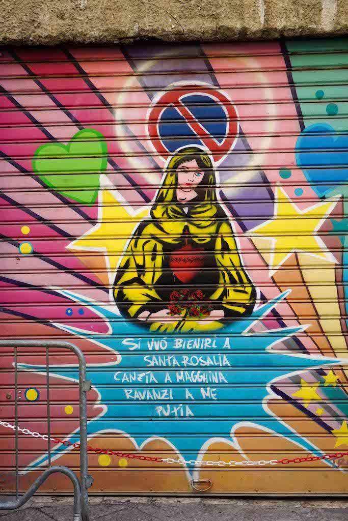 Sveta Rozalija - zaštitnica grada Palerma