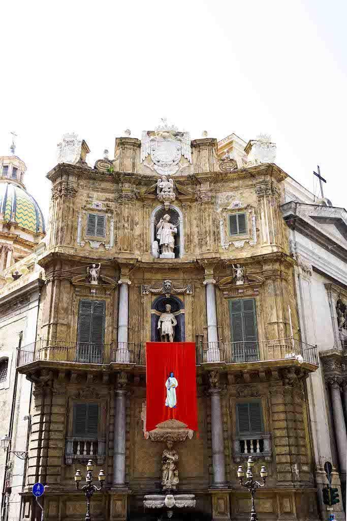 Quattro Canti - raskošje baroka Palermo