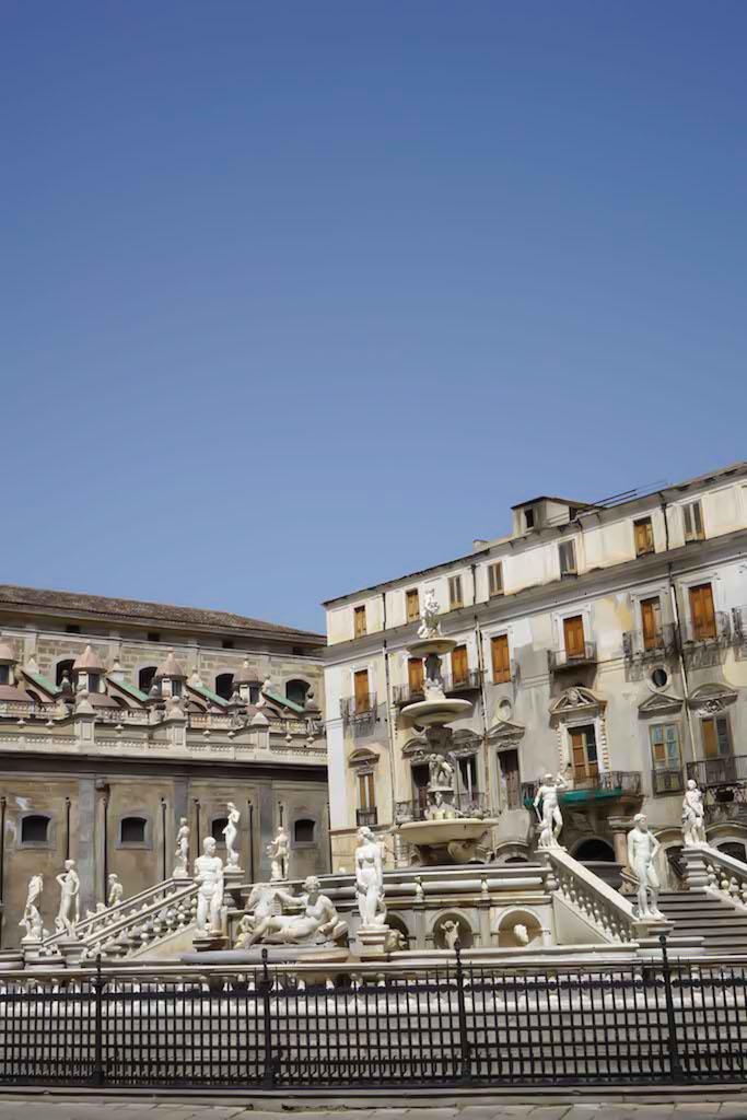 Fontana Pretoria donešena je iz Firence i to u 600 delova!Palermo