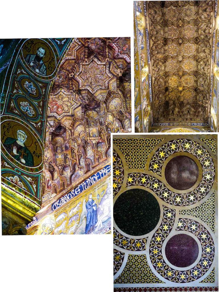 Detalji iz kapele Palatina, Palermo