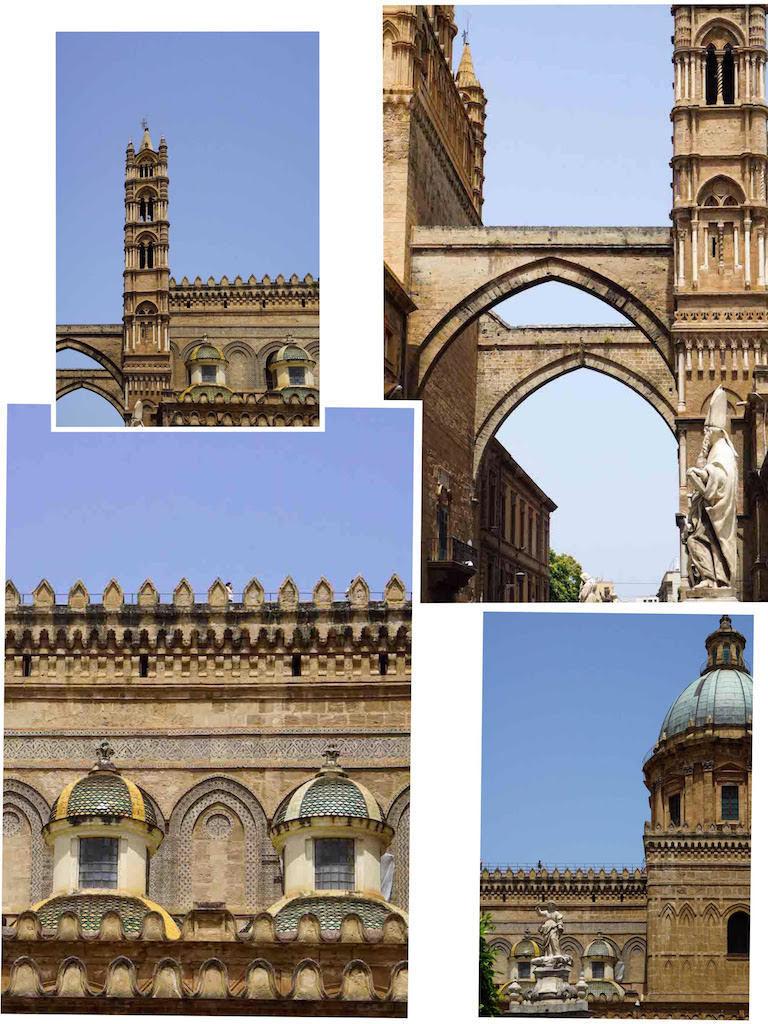Detalji sa glavne katedrale, Palermo