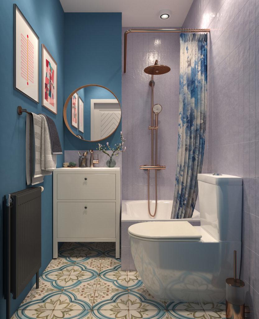 Kreativno kupatilo 3D model