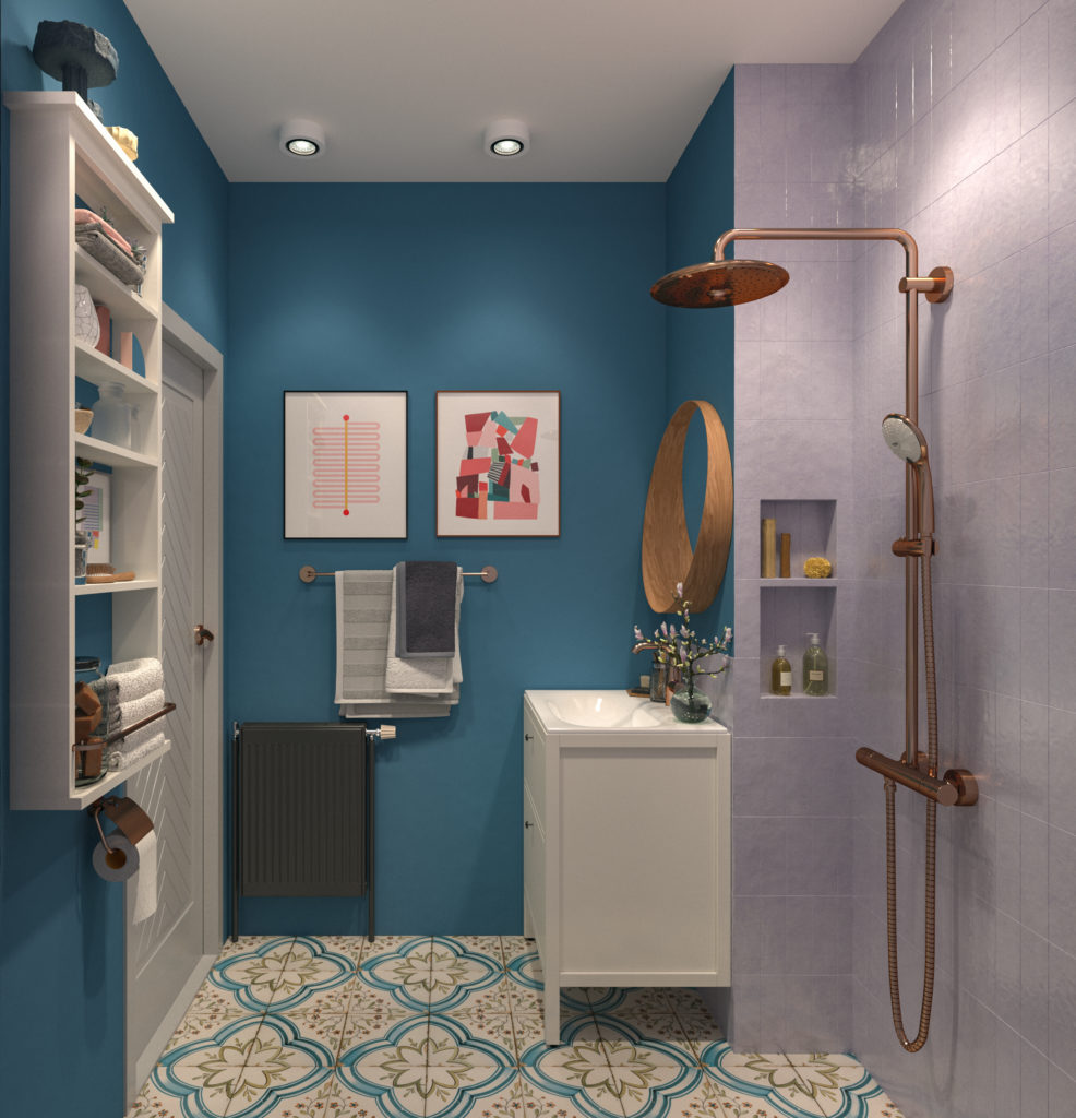 malo kupatilo sa mnogo stila