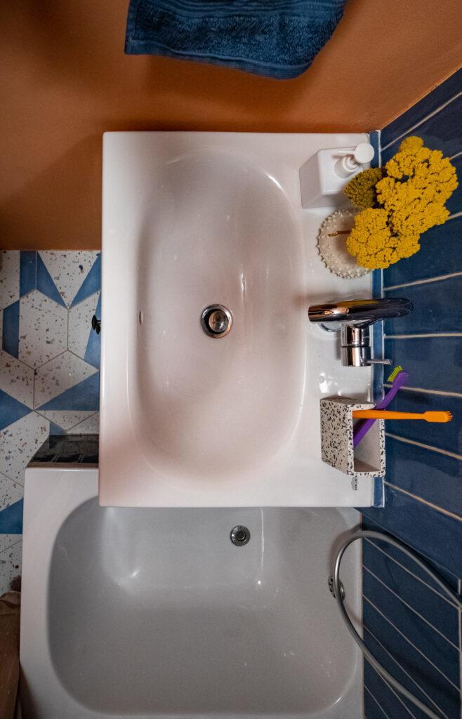 Grohe lavabo i slavina