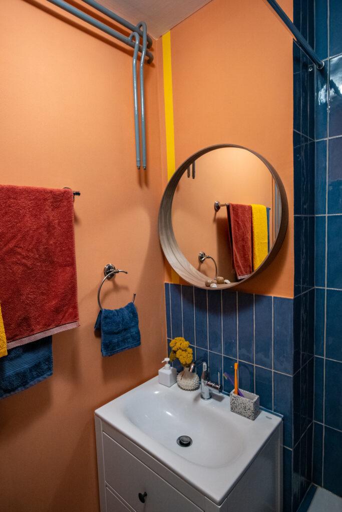Kreativno kupatilo - lavabo i ogledalo