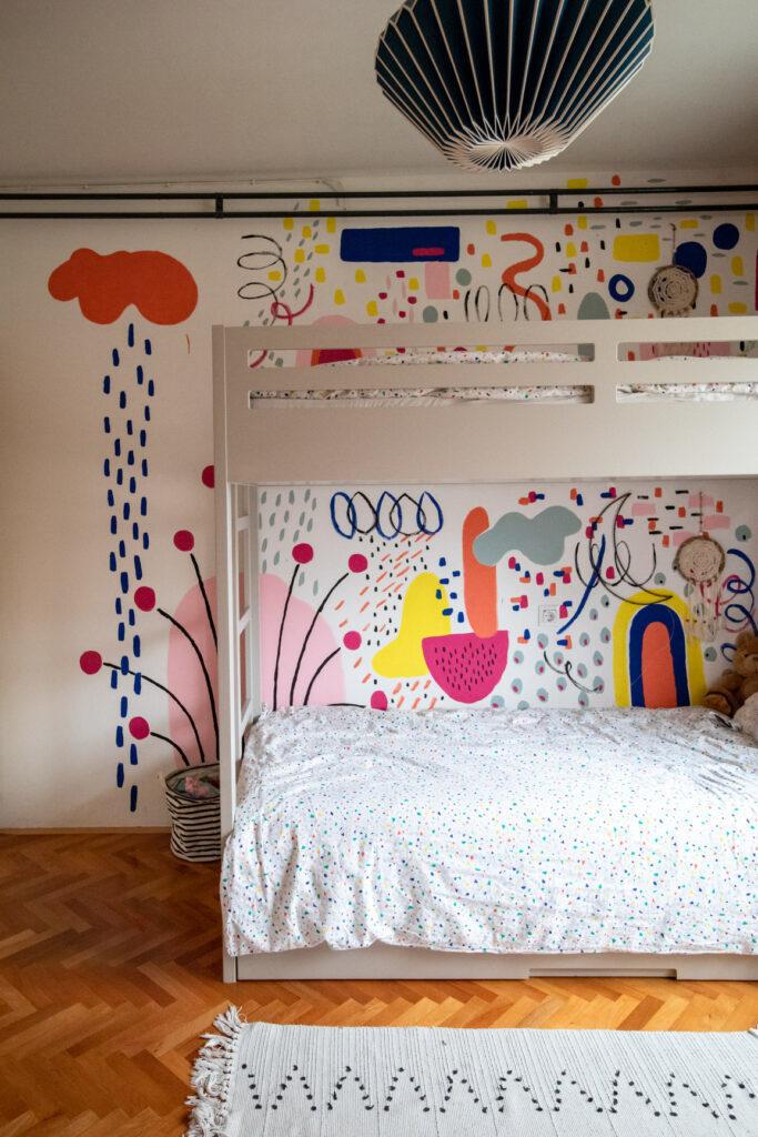 mural u dečijoj sobici