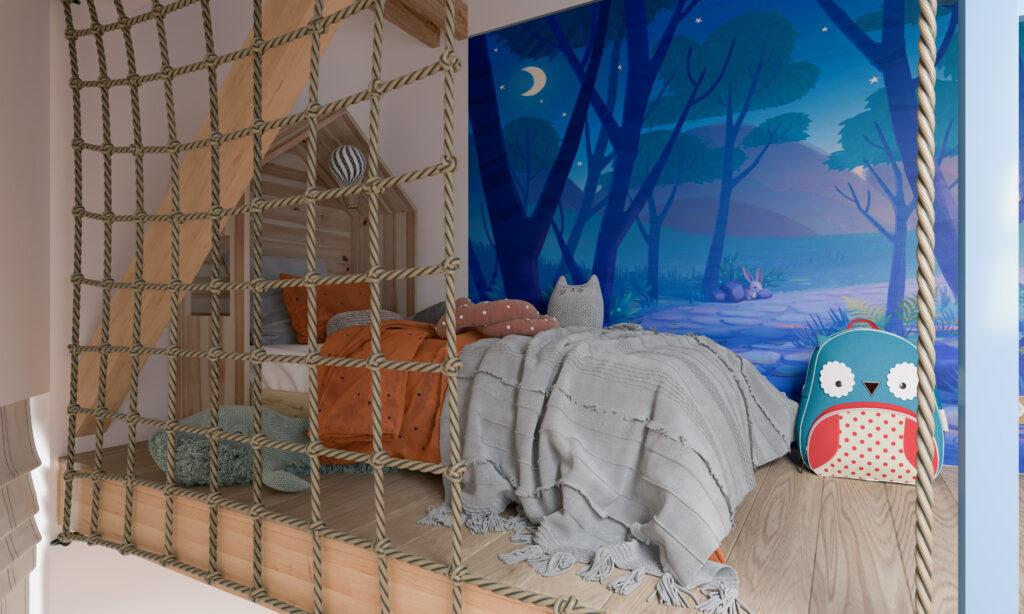 krevet za mlađeg sina
