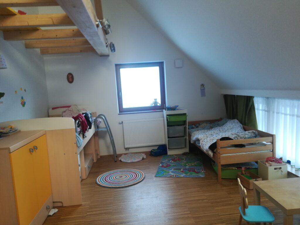 Dečija soba - postojeće stanje