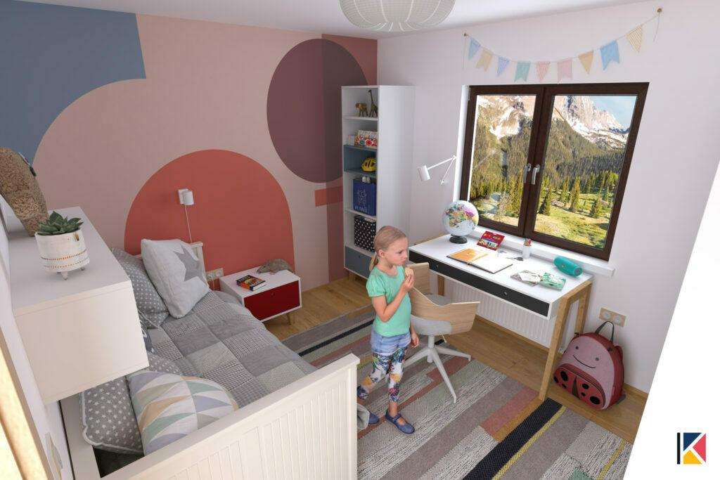 predlog za uredjenje dečije sobe